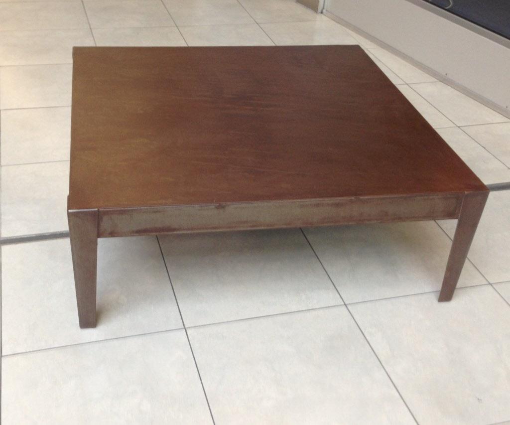 Table basse style loft maison design - Table basse metal industriel loft ...