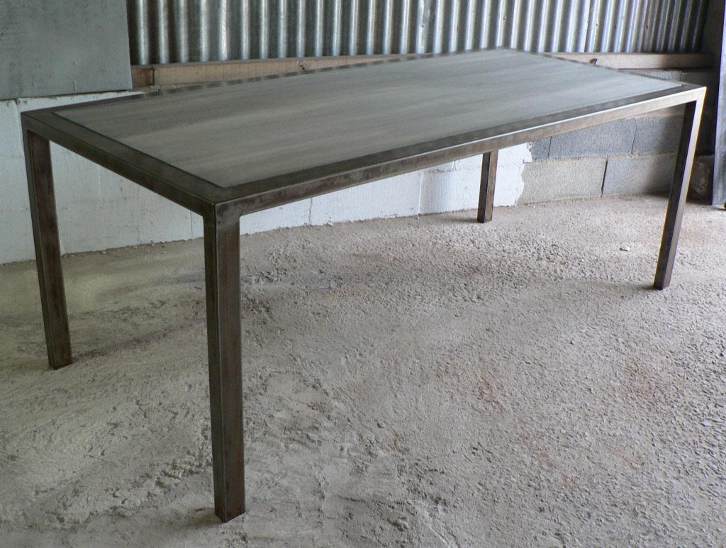 Table Haute Metal D Montable